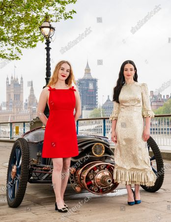 Editorial image of Sky Atlantic 'The Nevers' TV show photocall, London, UK - 13 May 2021