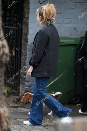 Editorial photo of Exclusive - Emily Atack out and about, London, UK - 12 May 2021