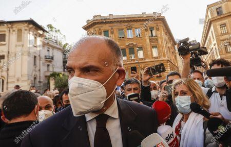 Editorial image of Solidariety vigil for Israel, Rome, Italy - 12 May 2021