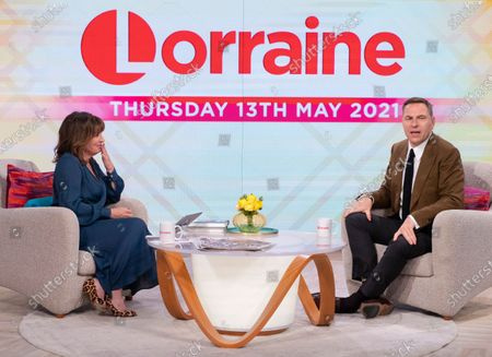 Lorraine Kelly and David Walliams