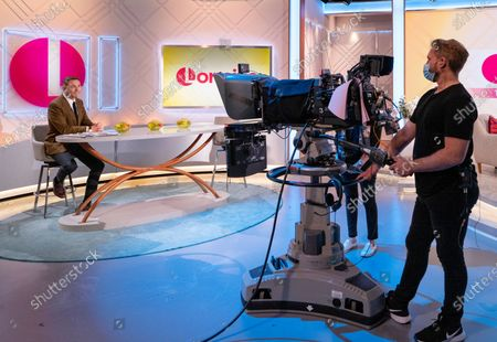 Editorial image of 'Lorraine' TV show, London, UK - 13 May 2021