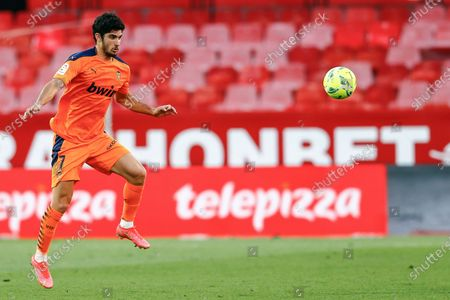 Stock Image of Goncalo Guedes of Valencia CF