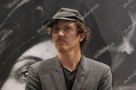 Exhibition dedicated to Peter Lindbergh in the ARTiglieria Con/temporary Art Center in Turin. Benjamin Lindbergh, son of i Peter and president of the Peter Lindbergh Foundation during the presentation