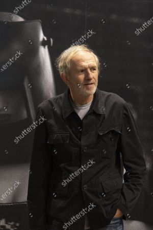 Exhibition dedicated to Peter Lindbergh in the ARTiglieria Con/temporary Art Center in Turin. Anton Corbijn artist and friend of Peter during the presentation