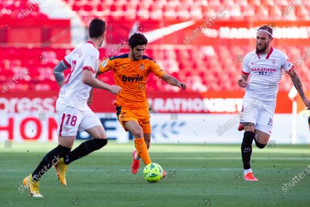Goncalo Guedes of Valencia