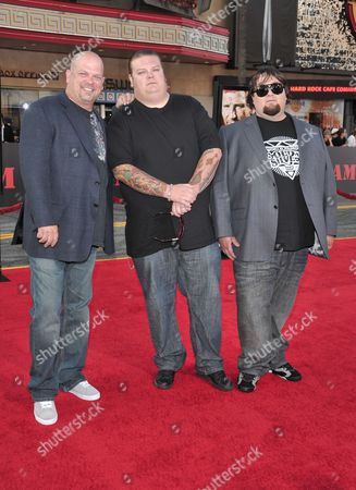 Corey Harrison, Richard Harrison and Austin  Russell