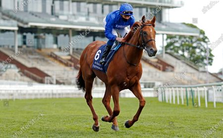 HURRICANE LANE (William Buick) winner of The Al Basti Equiworld Dubai Dante Stakes York