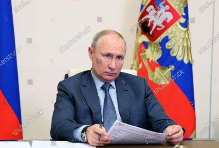 Editorial photo of Russian President Vladimir Putin, Novo Ogaryovo, Russian Federation - 13 May 2021