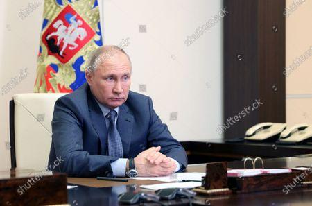 Editorial picture of Russian President Vladimir Putin, Novo Ogaryovo, Russian Federation - 13 May 2021