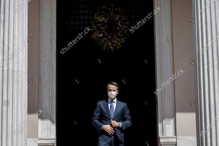 Editorial picture of Prime Minister of North Macedonia Zoran Zaev in Athens, Greece - 13 May 2021