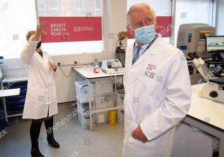 Prince Charles, Patron, will visit the Breast Cancer Now Toby Robins Research Centre, 21 years after HRH formally opened the research centre, to hear about achievements and how Covid-19 has impacted Breast Cancer Nowâs funded research. HRH meets Dr Rachel Brough Senior Scientific Officer, The Institute of Cancer Research.