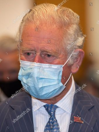 Stock Photo of Prince Charles, Patron, will visit the Breast Cancer Now Toby Robins Research Centre, 21 years after HRH formally opened the research centre, to hear about achievements and how Covid-19 has impacted Breast Cancer Nowâs funded research.