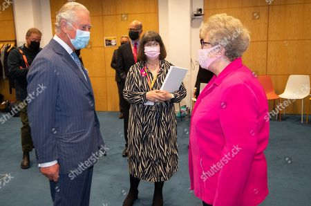 Editorial picture of Prince Charles visits the Breast Cancer Now Toby Robins Research Centre, London, UK - 13 May 2021