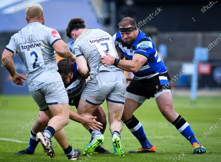 Editorial picture of Bath Rugby v Sale Sharks, Gallagher Premiership, The Recreation Ground, Bath, UK - 14 May 2021
