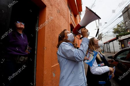 Editorial image of Margarita Zavala campaign in Mexico, Mexico City - 11 May 2021