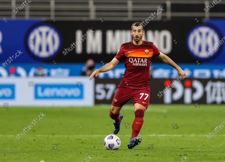 Editorial image of FC Internazionale vs AS Roma in Milan, Italy - 12 May 2021