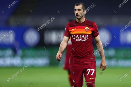 Stock Photo of Henrikh Mkhitaryan of As Roma