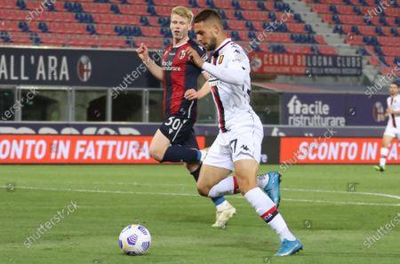 Stock Picture of Marko Pjaca (Genoa Football Club)