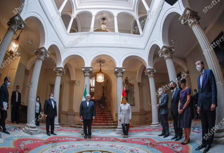 Editorial photo of Iran's Foreign Affairs Minister Javad Zarif visits Spain, Madrid - 13 May 2021