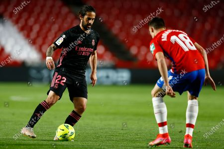 Stock Picture of Isco Alarcon of Real Madrid