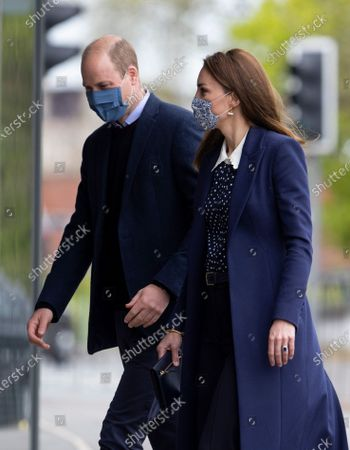 Editorial image of Prince William and Catherine Duchess of Cambridge visit to The Way Youth Zone, Wolverhampton, West Midlands, UK - 13 May 2021
