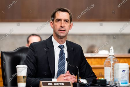 Editorial photo of Senate Armed Services Committee Hearing in Washington, US - 13 May 2021