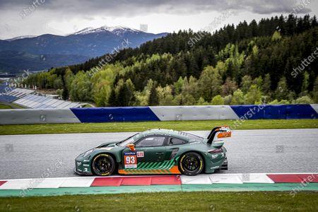 Stock Picture of 93 Michael Fassbender (irl), Felipe Laser (deu), Richard Lietz (aut), Proton Competition, Porsche 911 RSR - 19, action
