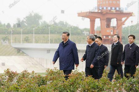 Editorial image of China Henan Nanyang Xi Jinping Inspection - 13 May 2021