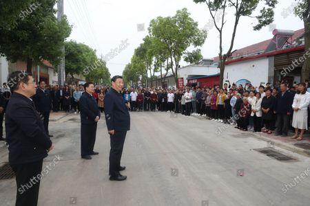 Editorial picture of China Henan Nanyang Xi Jinping Inspection - 13 May 2021