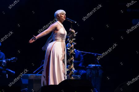 Editorial photo of Pasion Vega Concert In Madrid, Spain - 13 May 2021