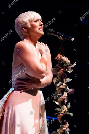 Editorial image of Pasion Vega Concert In Madrid, Spain - 13 May 2021