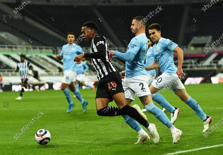 Editorial picture of Newcastle United v Manchester City, Premier League, Football, St James's Park, Newcastle, UK - 14 May 2021