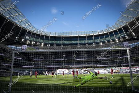 Editorial photo of Tottenham Hotspur v Wolverhampton Wanderers, Premier League, Football, The Tottenham Hotspur Stadium, London, UK - 16 May 2021