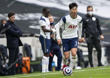Stock Image of Son Heung-Min of Tottenham Hotspur