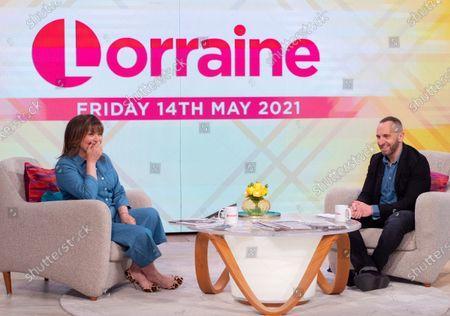 Lorraine Kelly and Mark Heyes