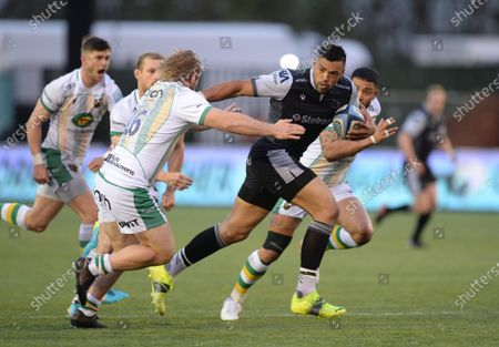Editorial image of Newcastle Falcons v Northampton Saints, Gallagher Premiership, Rugby Union, Kingston Park, Newcastle, UK - 17 May 2021
