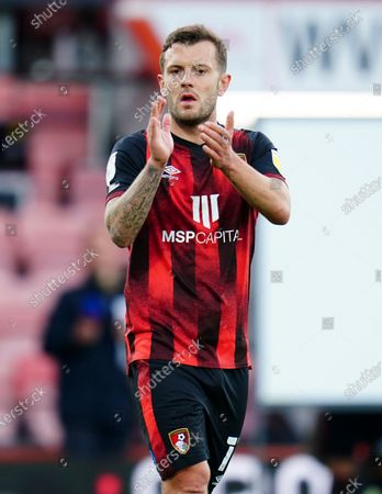 Editorial picture of AFC Bournemouth v Brentford, EFL Sky Bet Championship, Playoffs, Semi Final, First Leg, Football, The Vitality Stadium, Bournemouth, UK - 17 May 2021