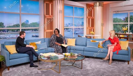 Stock Image of Dermot O'Leary, Alison Hammond and Sara Cox