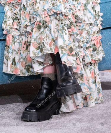 Katherine Kelly, shoe detail