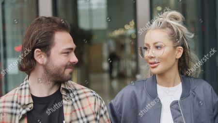 Bradley Dack and Olivia Attwood.