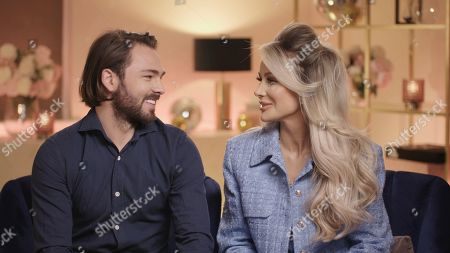 Stock Photo of Bradley Dack and Olivia Attwood.