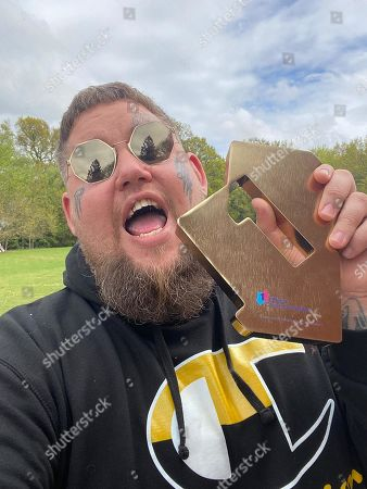 Editorial photo of Rag'n'Bone Man's new album 'Life By Misadventure' charges straight in at Number 1 on this week's Official Albums Chart, UK - 14 May 2021