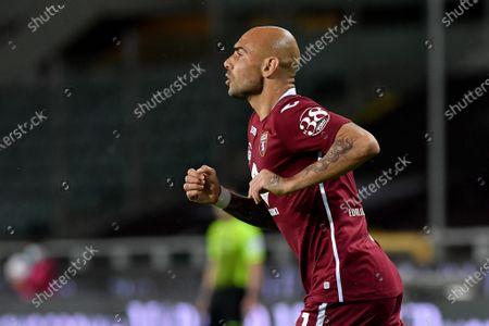 Stock Photo of Simone Zaza of Torino FC in action