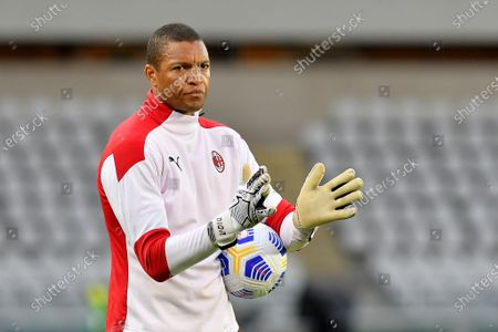 Stock Picture of Nelson Dida goalkeeper trainer of AC Milan