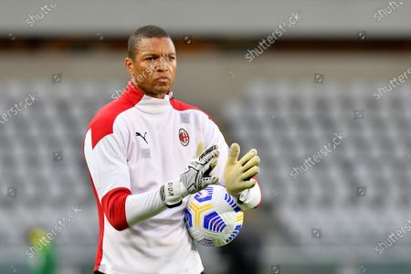 Nelson Dida goalkeeper trainer of AC Milan