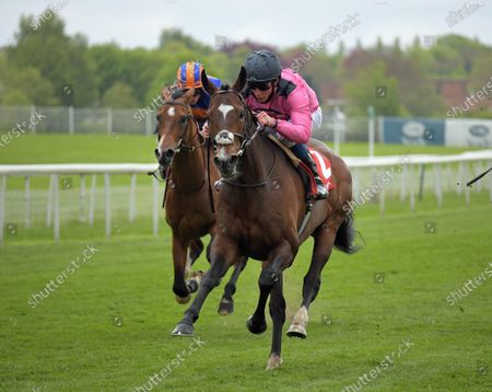 Stock Picture of SPANISH MISSION with William Buick wins Matchbook Yorkshire Cup Stakes at York