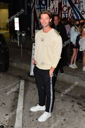 Editorial picture of Patrick Schwarzenegger out and about, Los Angeles, USA - 13 May 2021