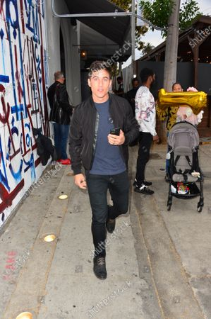 Editorial photo of Mike Manning out and about, Los Angeles, USA - 13 May 2021