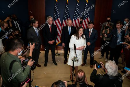 Editorial photo of GOP Conference Chair Election, Capitol Hill, Washington, Dc, United States - 14 May 2021