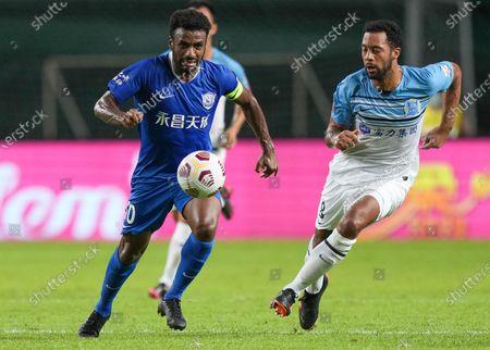 Editorial image of China Guangzhou Football Csl Guangzhou vs Cangzhou - 14 May 2021